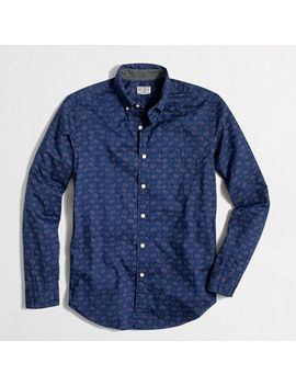 factory-printed-washed-shirt by jcrew