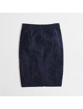 factory-pencil-skirt-in-floral-eyelet by jcrew