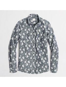 factory-classic-button-down-shirt-in-printed-chambray by jcrew
