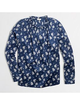 factory-printed-indigo-popover by jcrew