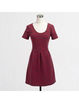 factory-stripe-scoopneck-dress by jcrew