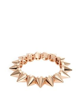 asos-spike-stretch-bracelet by asos