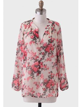museum-date-floral-blouse by ruche