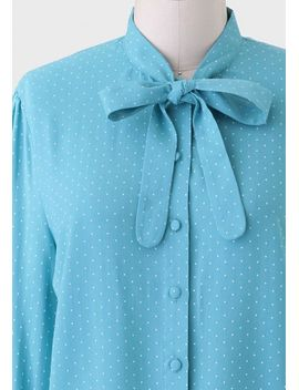 study-session-polka-dot-blouse by ruche