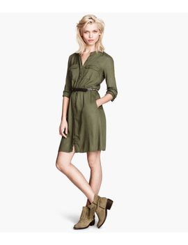 shirt-dress by h&m