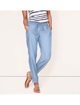 chambray-slouchy-ankle-pants-in-marisa-fit by loft