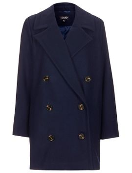 double-breasted-pea-coat by topshop
