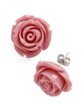 retro-rosie-earrings-in-dusty-rose by modcloth