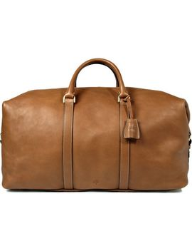 clipper-leather-holdall by mulberry