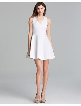 norton-fit-and-flare-dress by joie
