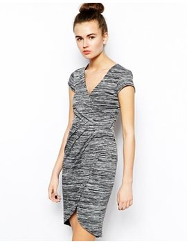 french-connection-summer-space-dye-dress-with-wrap-over-detail by french-connection