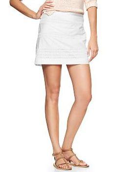 eyelet-stripe-mini-skirt by gap