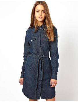 levis-long-sleeve-western-dress by levis