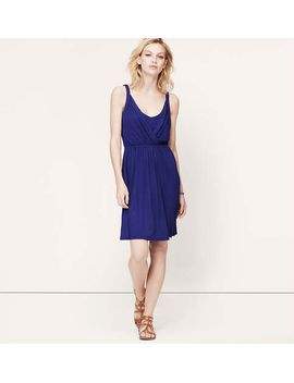 crossover-tank-dress by loft