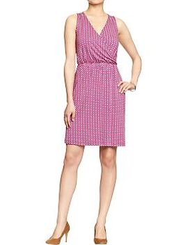 womens-cross-front-jersey-dresses by old-navy