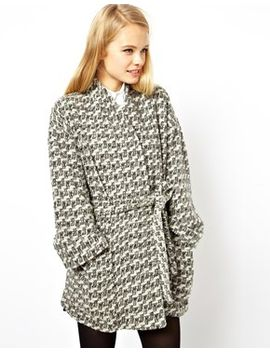 asos-textured-kimono-coat-with-belt by asos-collection