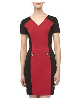 colorblocked-zipper-detailed-dress,-raspberry by marc-new-york-by-andrew-marc