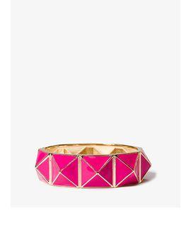 pyramid-hinge-bracelet by forever-21