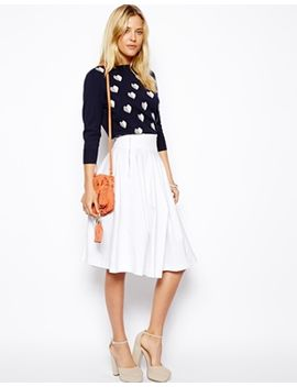 asos-midi-skirt-with-zips by asos-collection