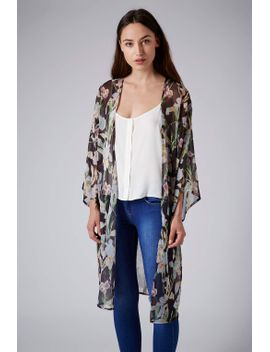 iris-longline-kimono by topshop