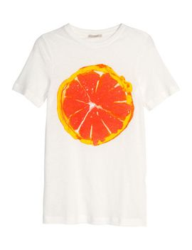 t-shirt-in-a-linen-mix by h&m