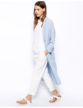 asos-longline-duster-jacket by asos-collection