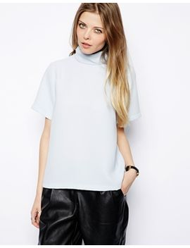 asos-top-with-clean-high-neck by asos-collection
