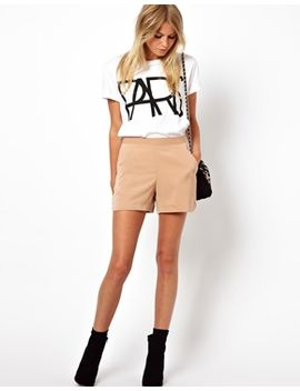 asos-shorts-with-high-waist-detail by asos-collection