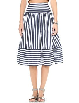 striped-skirt by joa