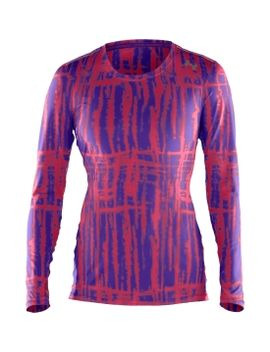 under-armour-womens-sonic-printed-long-sleeve-tee by under-armour