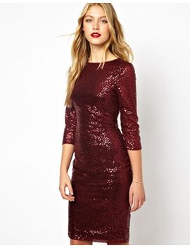 oasis-sequin-bodycon-dress by oasis