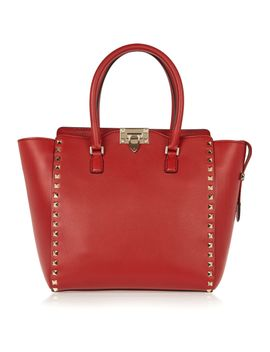 the-rockstud-medium-leather-tote by valentino