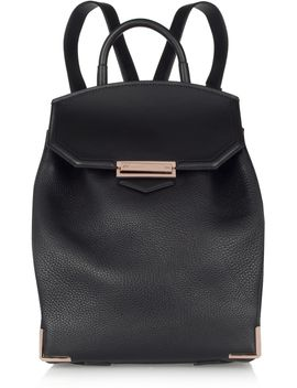 prisma-textured-leather-backpack by alexander-wang