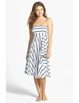 stripe-convertible-cover-up-dress by elan