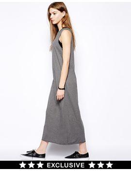 monki-sleeveless-t-shirt-maxi-dress by monki