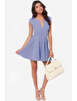 lulus-exclusive-top-contender-periwinkle-dress by lulus