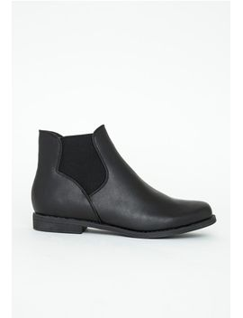 velma-black-chelsea-boots by missguided