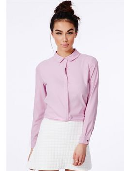 janella-lilac-shirt by missguided