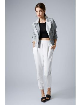 tailored-cuff-joggers by topshop