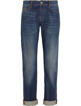 boyfriend-mid-rise-jeans by victoria-beckham-denim