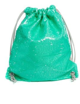 asos-sequin-pe-drawstring-bag by asos-collection