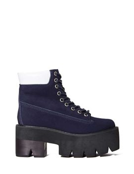 jeffrey-campbell-nirvana-boot---navy by nasty-gal