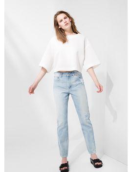 premium---suéter-boxy-minimal by mango