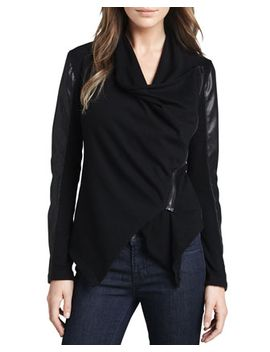 private-practice-draped-jacket by blank