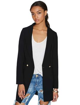believe-me-blazer by nasty-gal