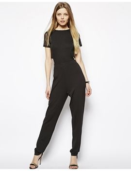 psuit-with-mesh-crop-top by asos-collection