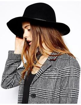 asos-felt-fedora-hat by asos-collection
