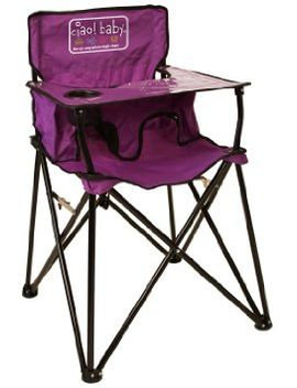 ciao!-baby-portable-high-chair,-black, by ciao!-baby