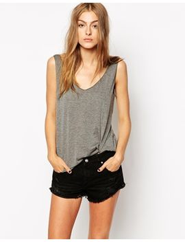 mango-viscose-scoop-vest by mango