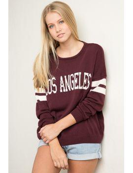 veena-los-angeles-sweater by brandy-melville